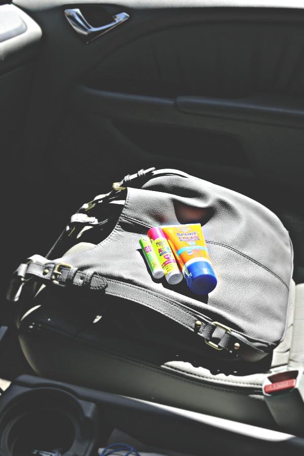 suncreen in my purse