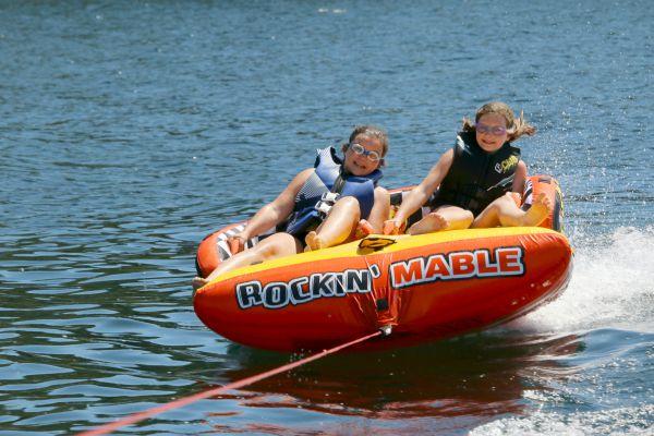 pontoon boat via Vacation Rental Authority on Lake Coeur d'Alene