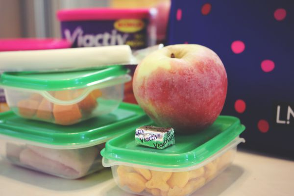 Packing lunch with Viactiv Calcium Soft Chew #BeActiv
