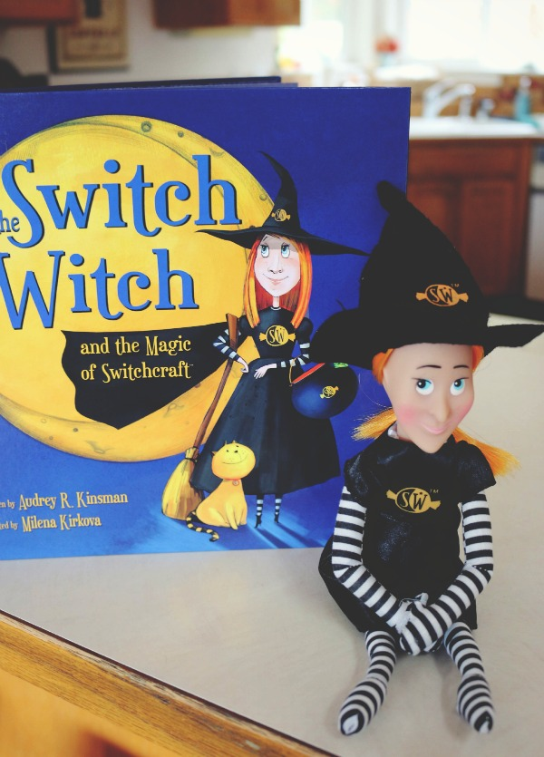 The Switch Witch for Halloween candy switching!