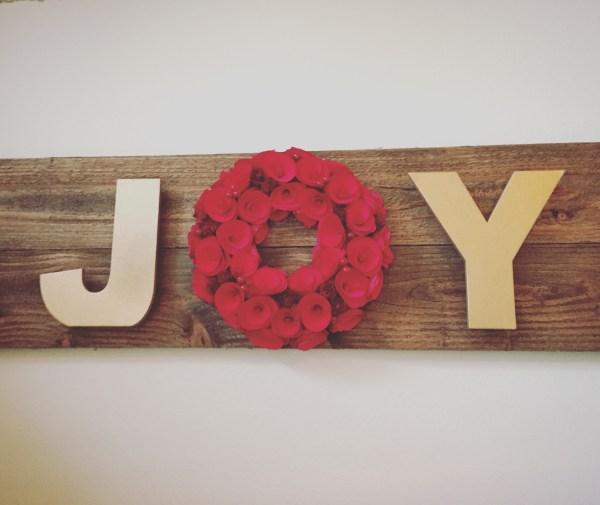 JOY sign via @jennyonthespot