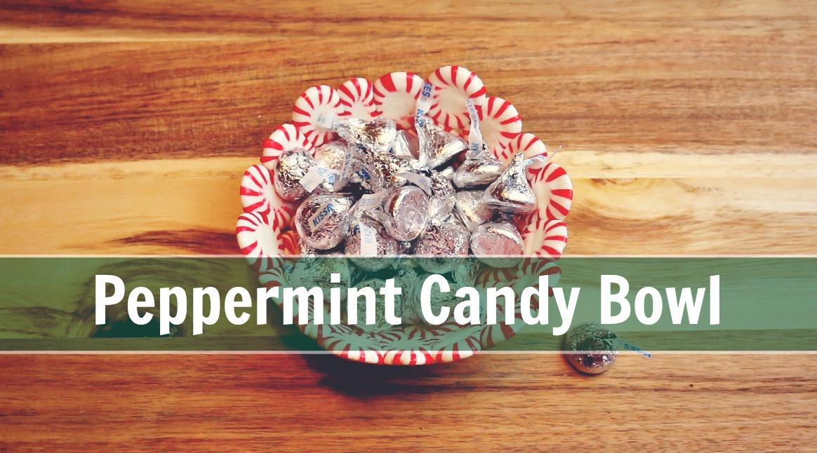 Peppermint Candy Bowl via @jennyonthespot