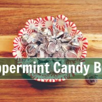 Peppermint Candy Bowl DIY