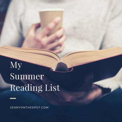 My Summer Reading List With Audible - Jenny On the Spot | Jenny On
