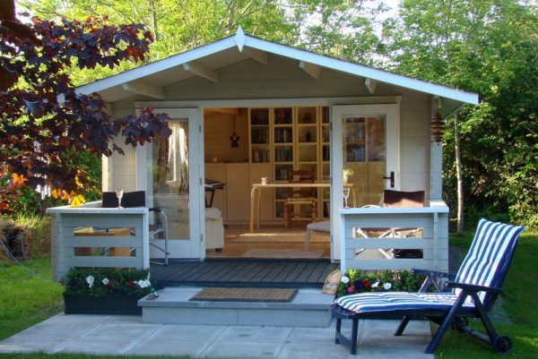 10 Beautiful Backyard Escape Ideas - She Shed