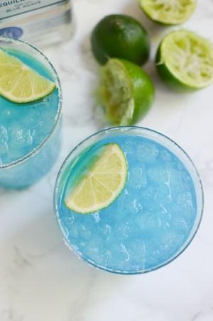 Blue Margarita via fakeginger.com