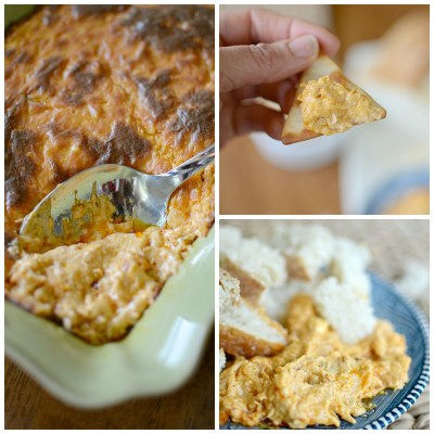 15 Super Bowl Party Recipes: Three Cheese Ranch Buffalo Chicken Dip