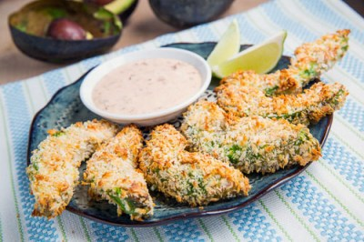 15 Super Bowl Party Recipes: Crispy Baked Avocado Fries