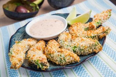 15 Super Bowl Party Recipes: Crispy Baked Avocado Fries