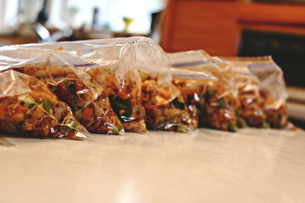 package and freeze hash - individual portions