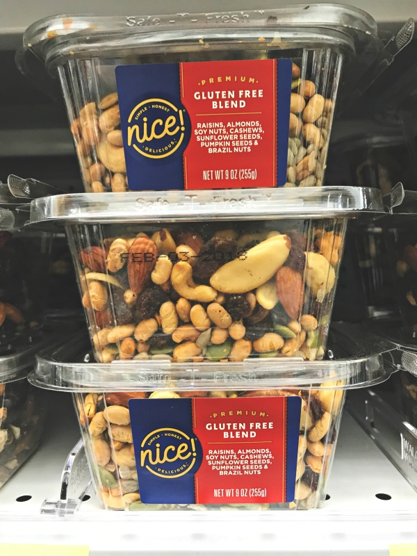 Nice! brand a Walgreens snacks