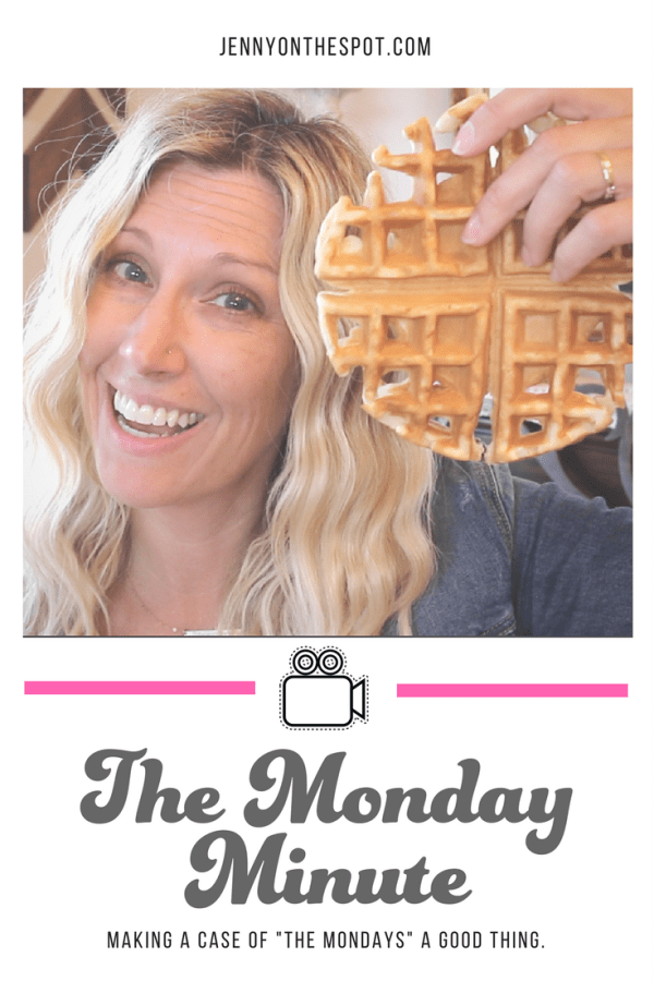 The Monday Minute | National Waffle Day is this week