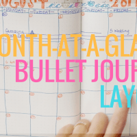 Bullet Journal Monthly Layout Tutorial (BuJo!)