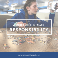 Word for the Year: Responsibility for 2018