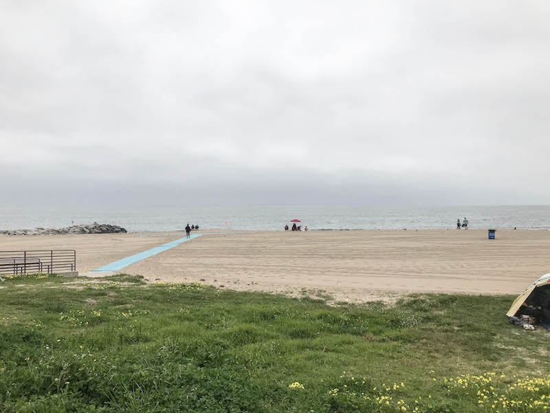 Family Vacation in Los Angeles: Will Rogers State Beach