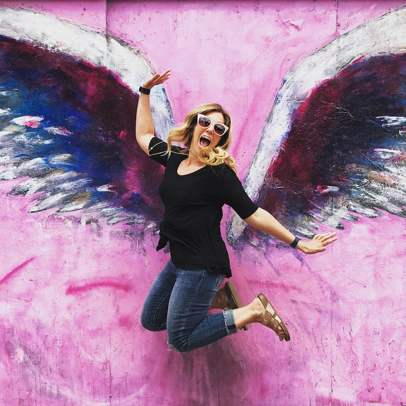 So Cal Melrose Wall with Wings