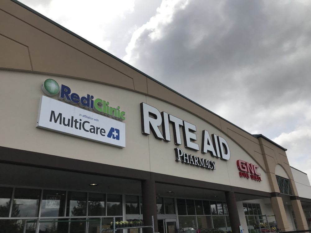 RediClinic inside select Rite Aid stores