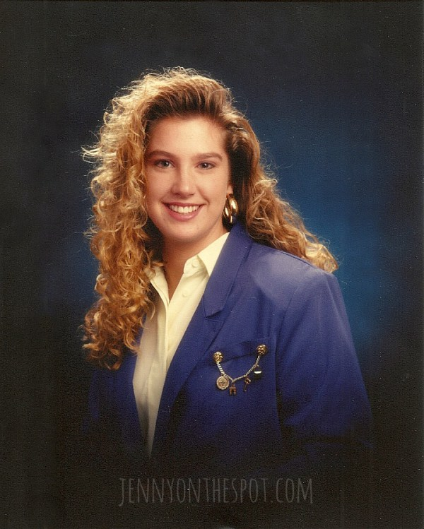 Advice for high school grads: My senior pic... circa 1990
