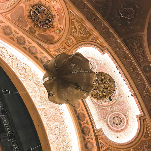 Chandelier - Phantom of the Opera at Seattle paramount Theatre August 8-19, 2018
