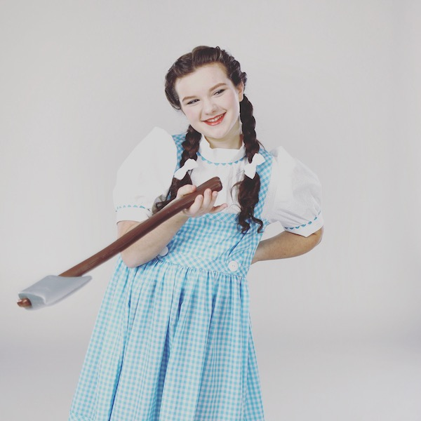Olivia as Dorothy in Wizard of Oz