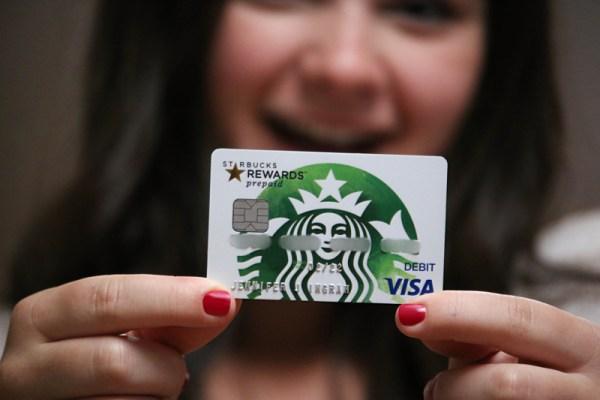 Starbucks Rewards Prepaid