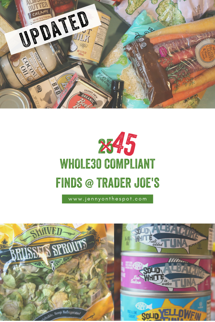 Over 25 Whole30 Compliant Foods At Trader Joe's!