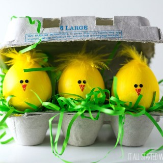 Easter egg chicks - Easter Egg Decorating Inspiration