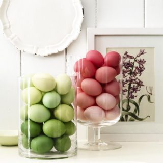 Ombre Eggs - Easter Egg Decorating Inspiration