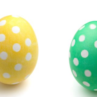 Polka Dot Easter Eggs - Easter Egg Decorating Inspiration