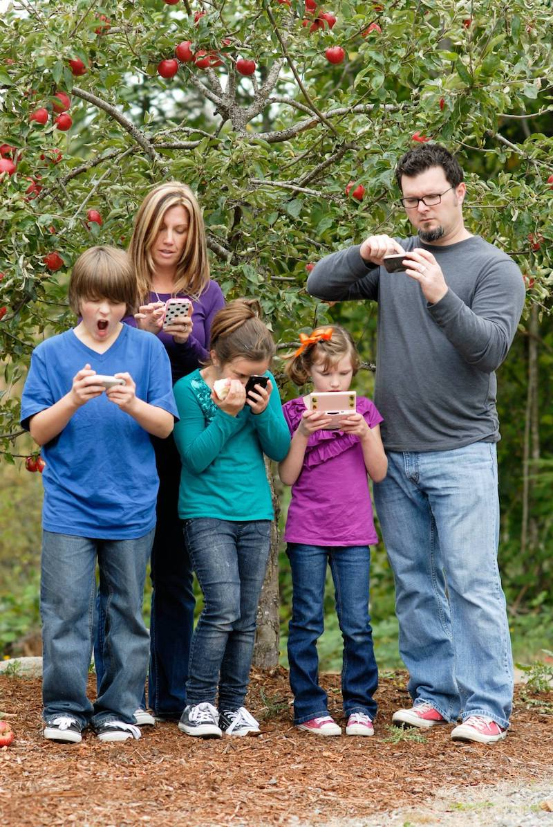 Kids of all ages use screens