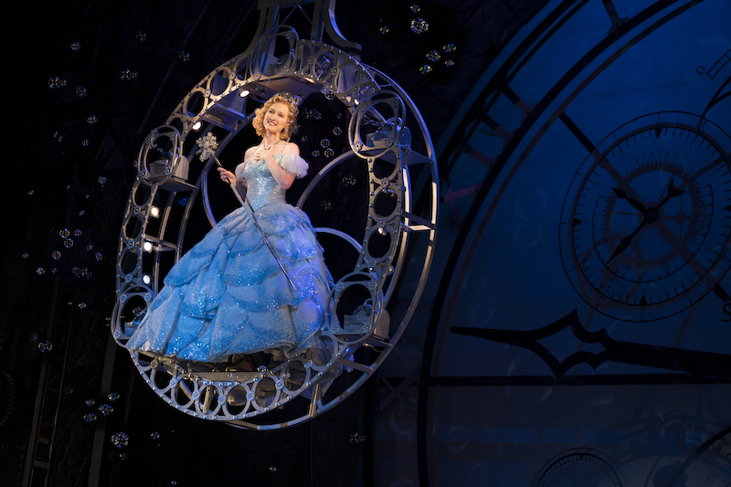 Erin Mackey as Glinda in WICKED. Photo by Joan Marcus