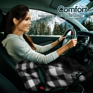 Electric Heating Blanket for the car on Amazon
