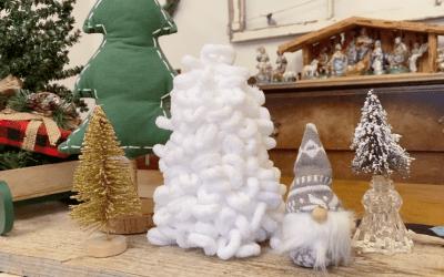 DIY: Make Your Own Loop Yarn Christmas Tree!