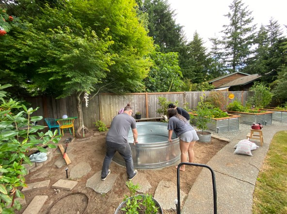 Placing the above ground pool