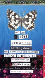jenny robins - wedding collage - we are in love