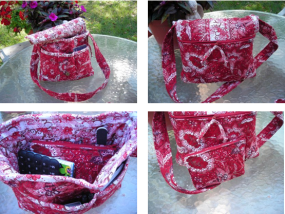 Prequilted Shoulder Bag