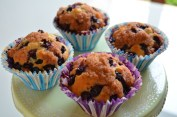 Muffin ai mirtilli extra morbidi