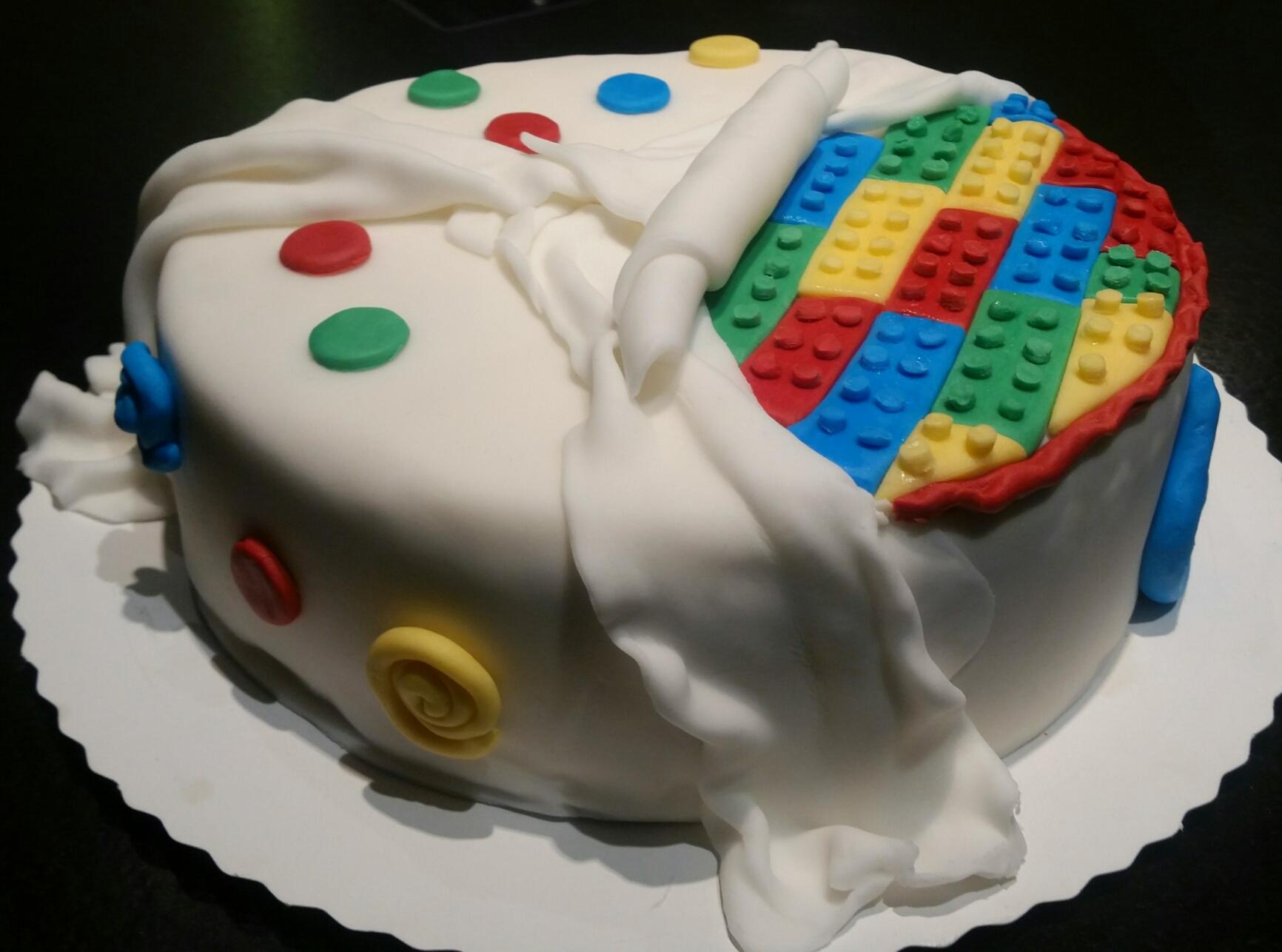 LegoTorte  Jennys Kchentrumchen