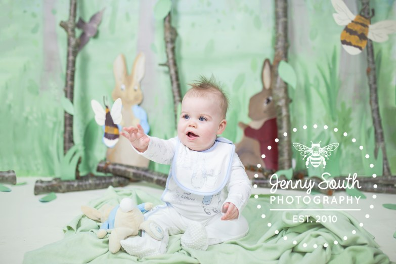 Peter Rabbit photography session