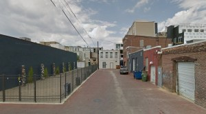 Blagden Alley, Washington DC from Google Maps