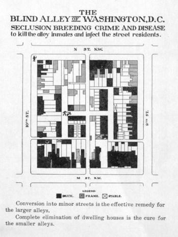 blagden alley blind alley 1912