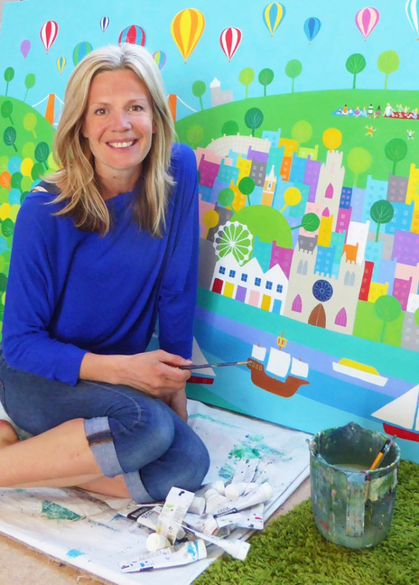 bespoke commission painting by jenny urquhart
