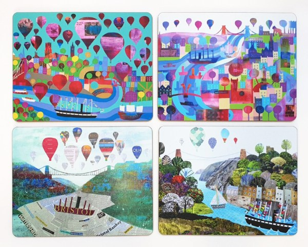 Bristol placemats by Jenny Urquhart
