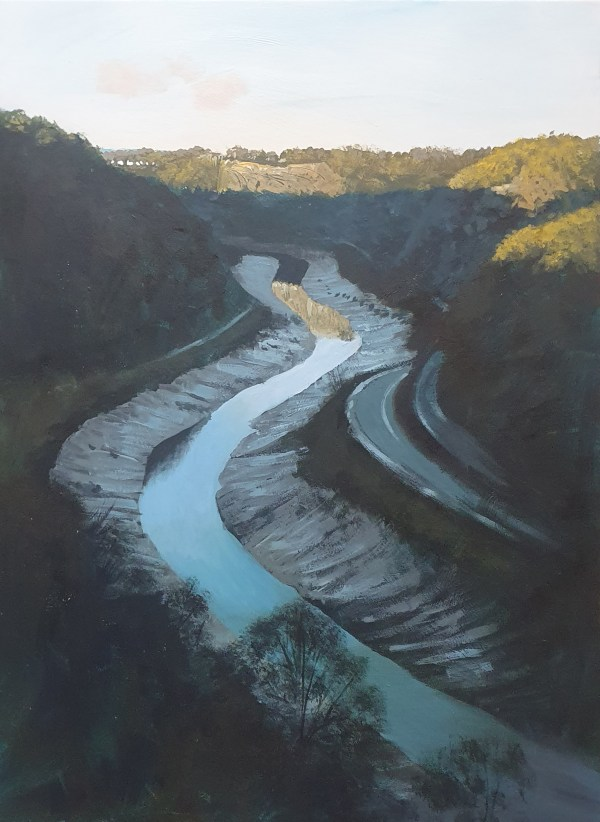 Late afternoon in the avon gorge by Jenny Urquhart