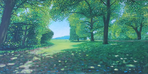 under the trees at Ashton Court by Jenny Urquhart