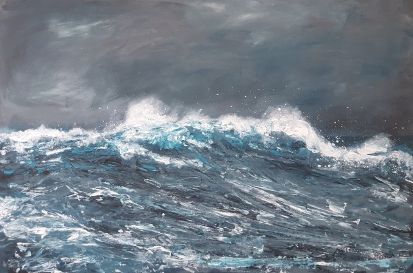 Riding he wave by Jenny Urquhart