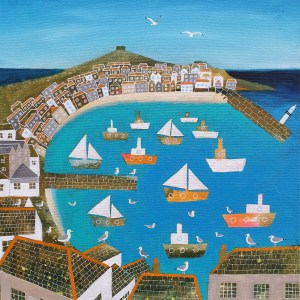 Summer in St Ives by Jenny Urquhart