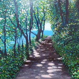 dappled path by jenny urquhart