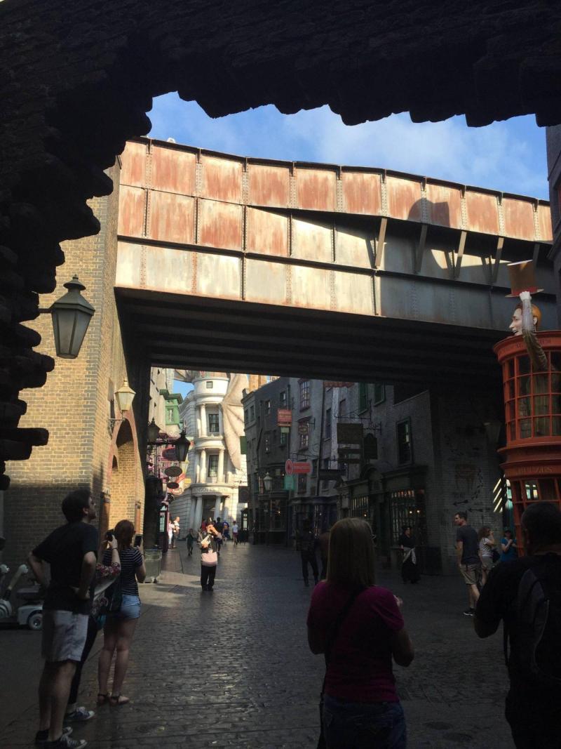 Entering Diagon Alley