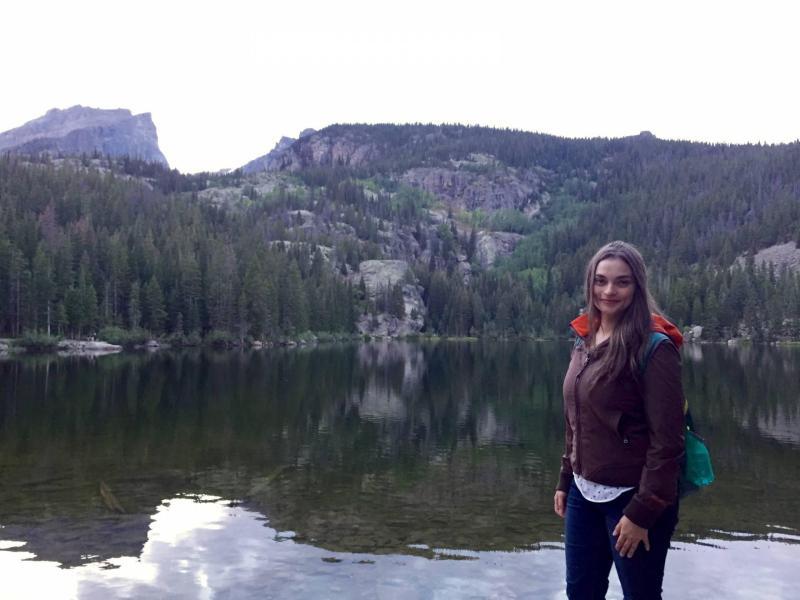 Standing by Bear Lake
